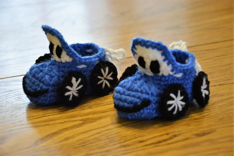 189d7979ce33b Have a Look These Amazing Crochet Baby Booties – 1001 Crochet