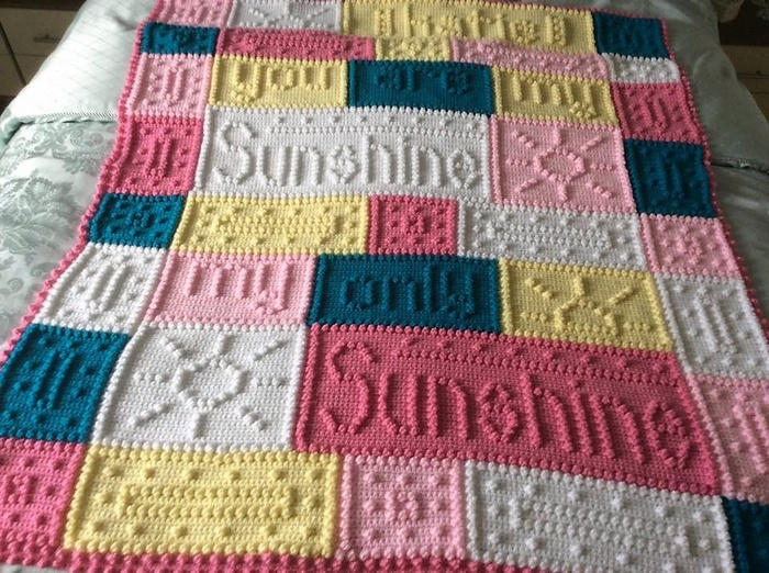 Brightful Design Ideas for Crochet Baby Blankets