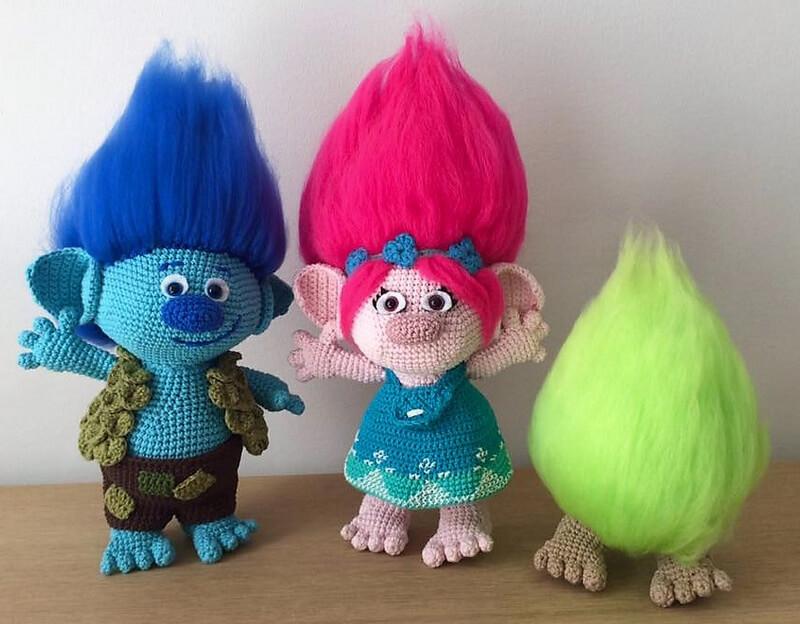 Eye Catching Design Ideas for Crocheted Amigurumies