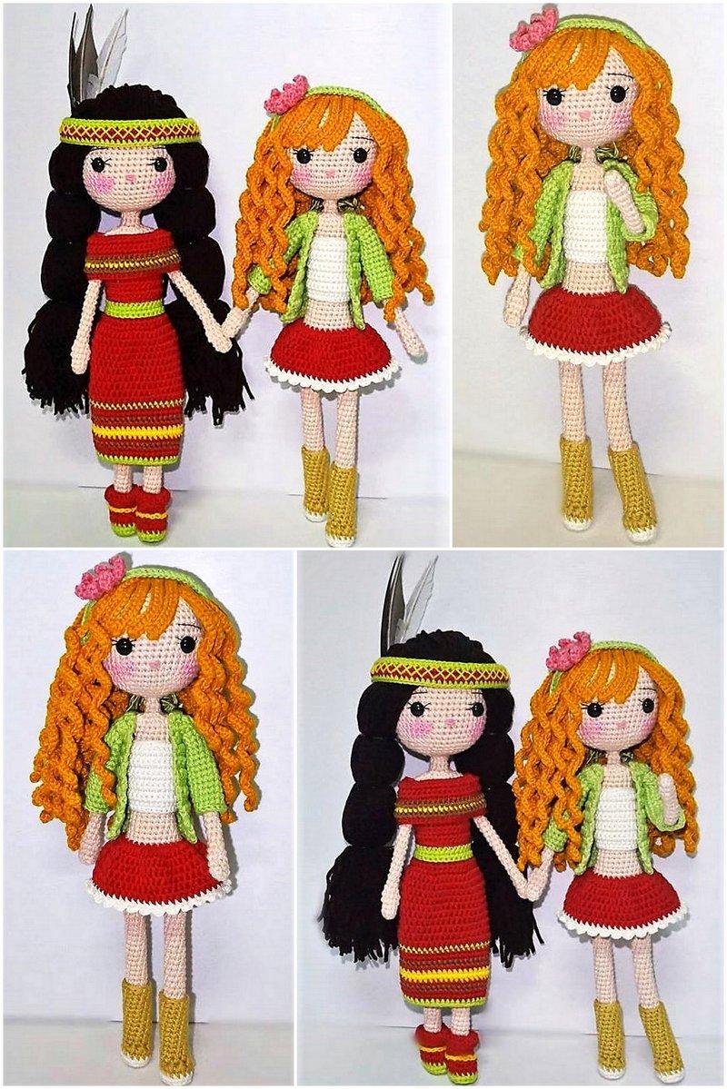 One Piece Crochet Doll Pattern | Supergurumi | 1199x800
