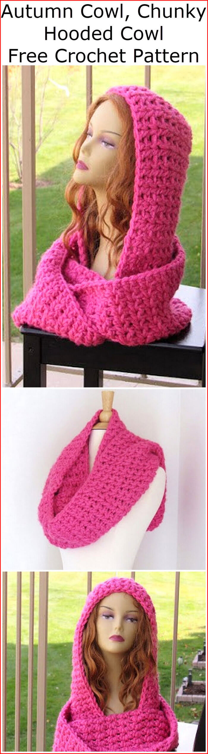 40 Free Patterns For Crochet Cowl Lovers 1001 Crochet