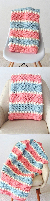 Unique Baby Blanket Crochet Patterns Free 1001 Crochet